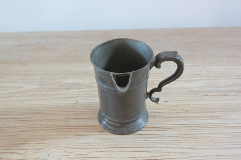 Various Pewter Steins  In Distressed Condition For Sale In Los Angeles, CA