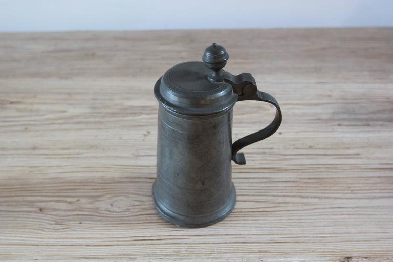 19th Century Various Pewter Steins  For Sale