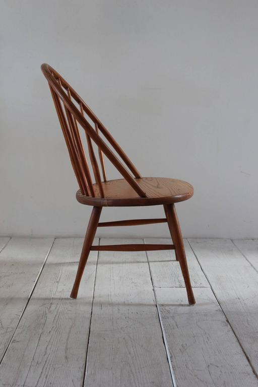 Wooden Spindle Windsor Peacock Chair At 1stdibs