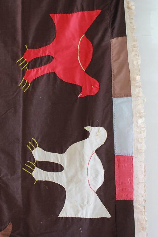 Primitive Fante Flag from Ghana For Sale