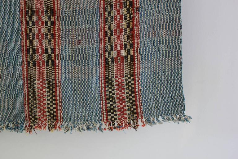 Mid-20th Century Multicolored Chinese Woven Rug For Sale