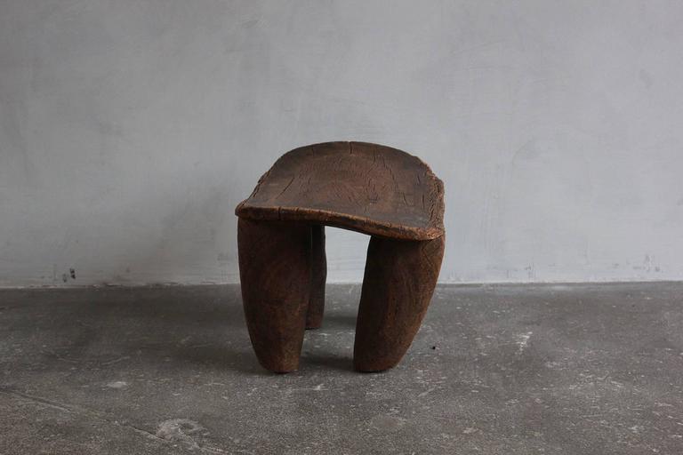 20th Century Aged Senufo Stool For Sale