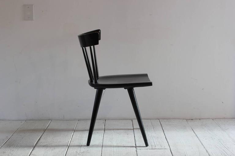 Paul McCobb Black Painted Spindle Chair 4