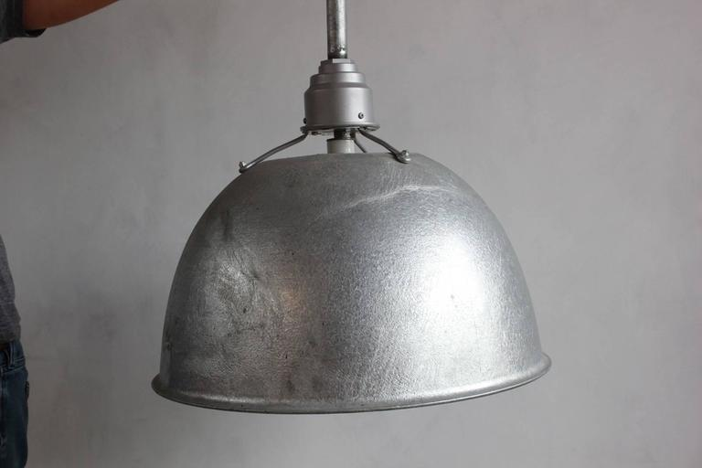Large Industrial Oversized Metal Pendant 6