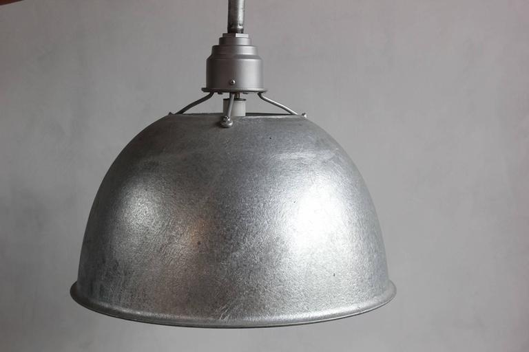 Large Industrial Oversized Metal Pendant 2
