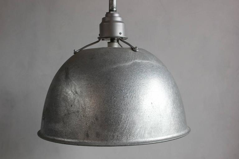 Large Industrial Oversized Metal Pendant 3