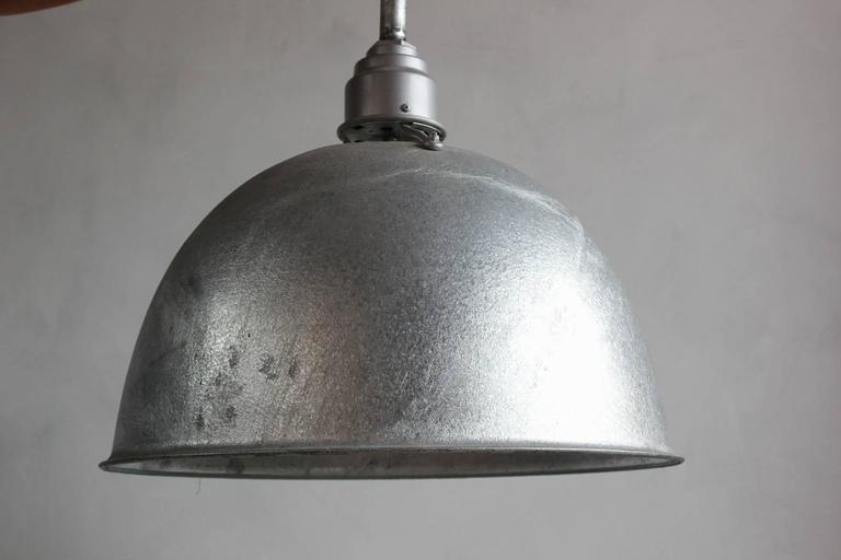 Large Industrial Oversized Metal Pendant 9