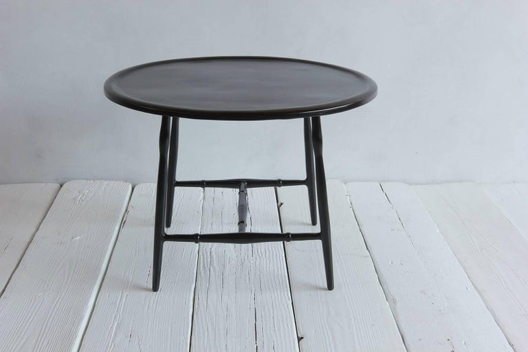 Sold Cast Metal Outdoor Windsor Cocktail Table 2