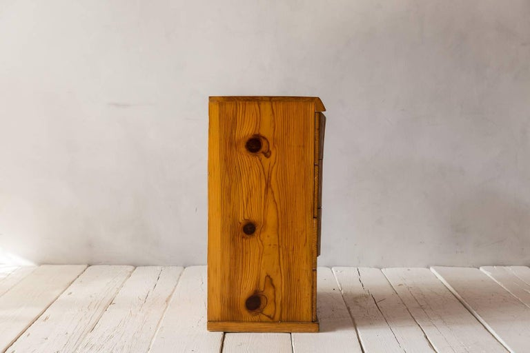 Rustic Four-Dresser with Live Edge Handles 7