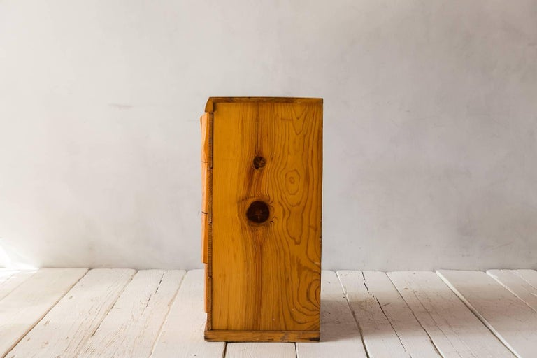 Rustic Four-Dresser with Live Edge Handles 5