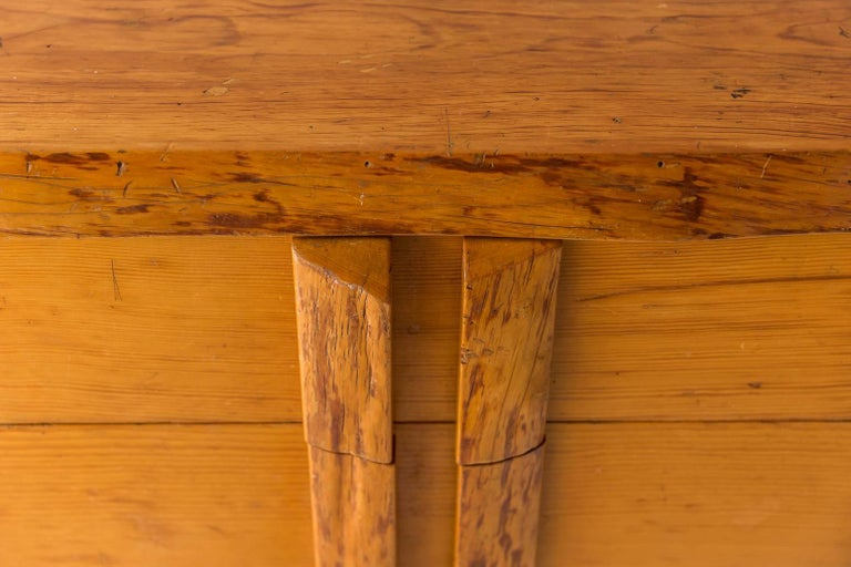 Rustic Four-Dresser with Live Edge Handles 3
