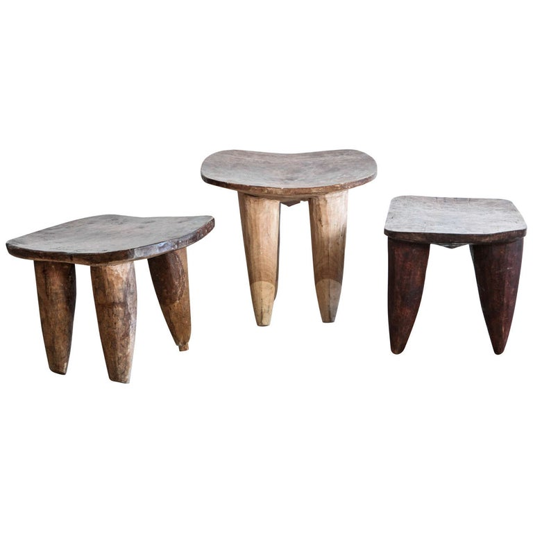 African Senufo Stools/Tables
