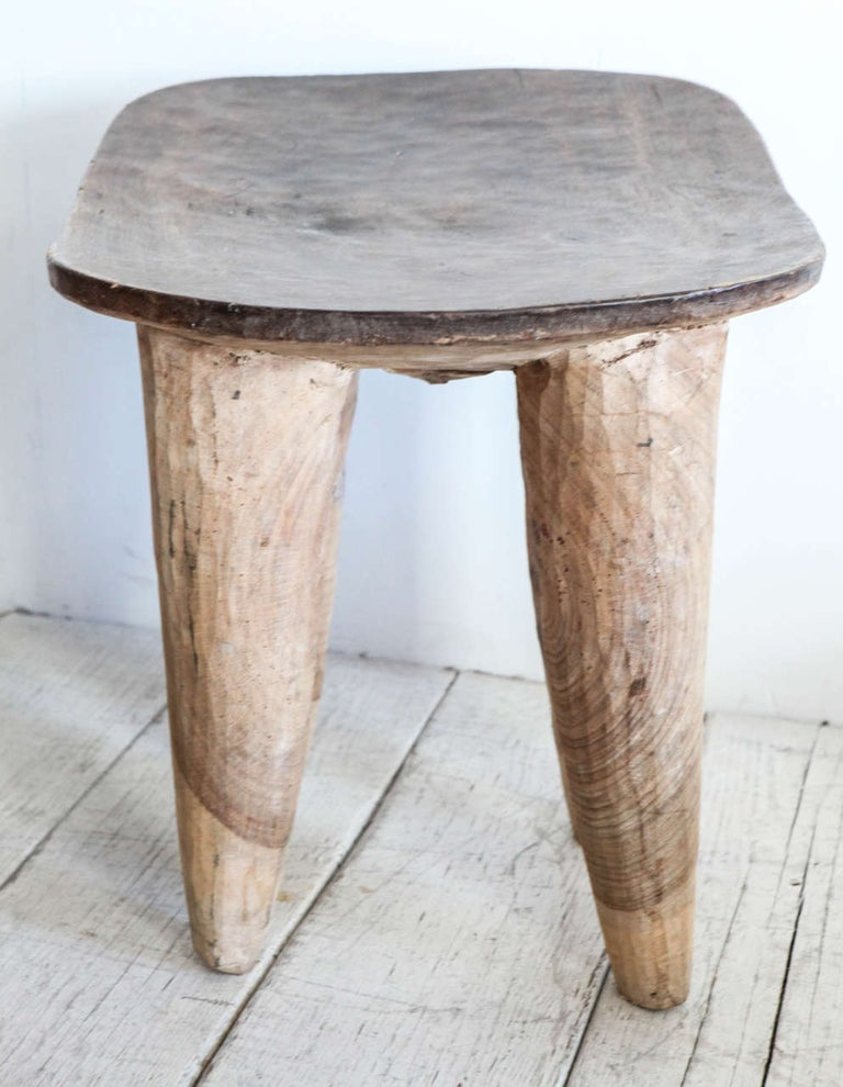 African Senufo Stools/Tables In Good Condition For Sale In Los Angeles, CA