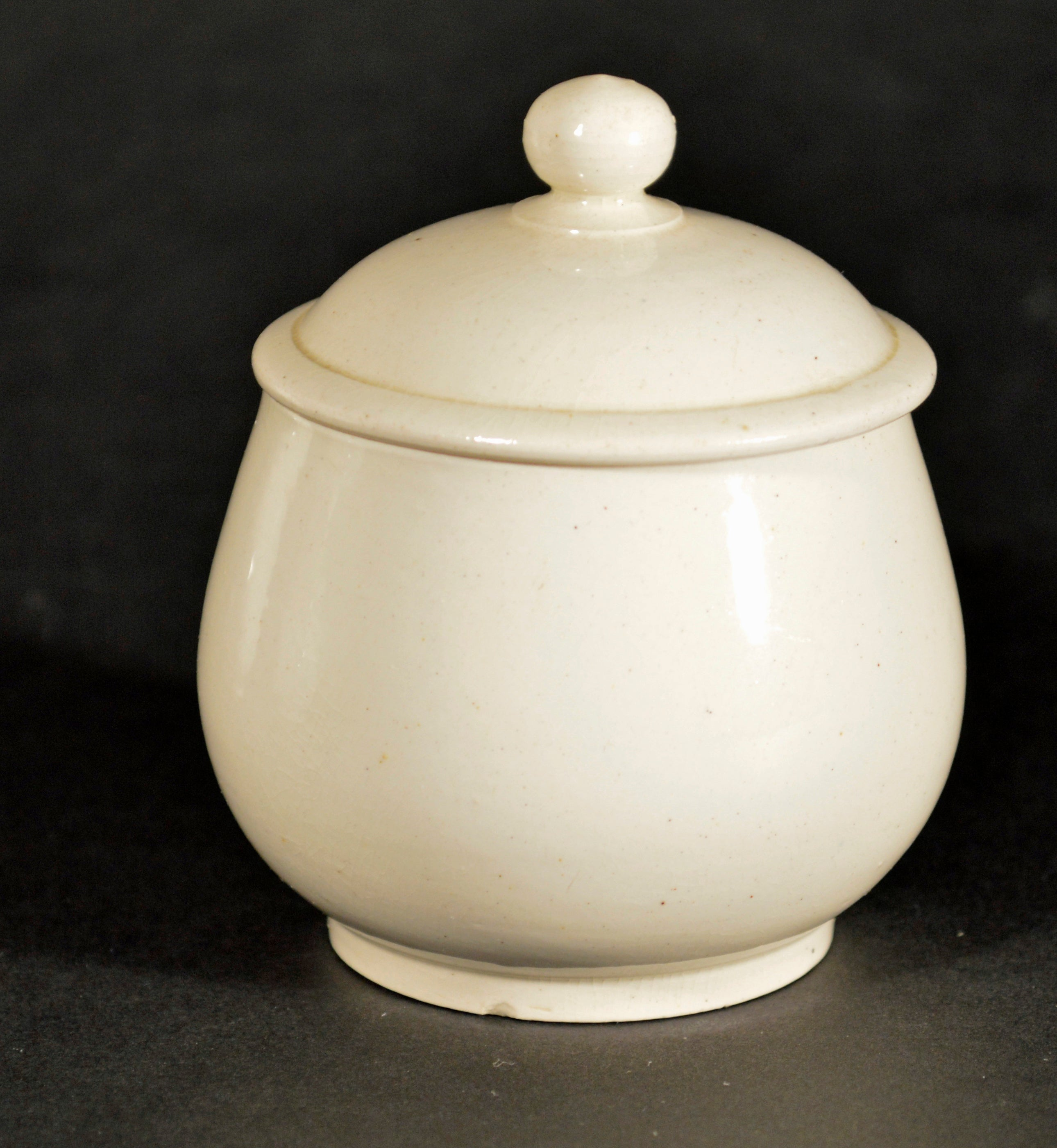 Creamers & Sugar Bowls Useful Antique Slip Molded Creamware Gravy Boat Bowl 18th Century