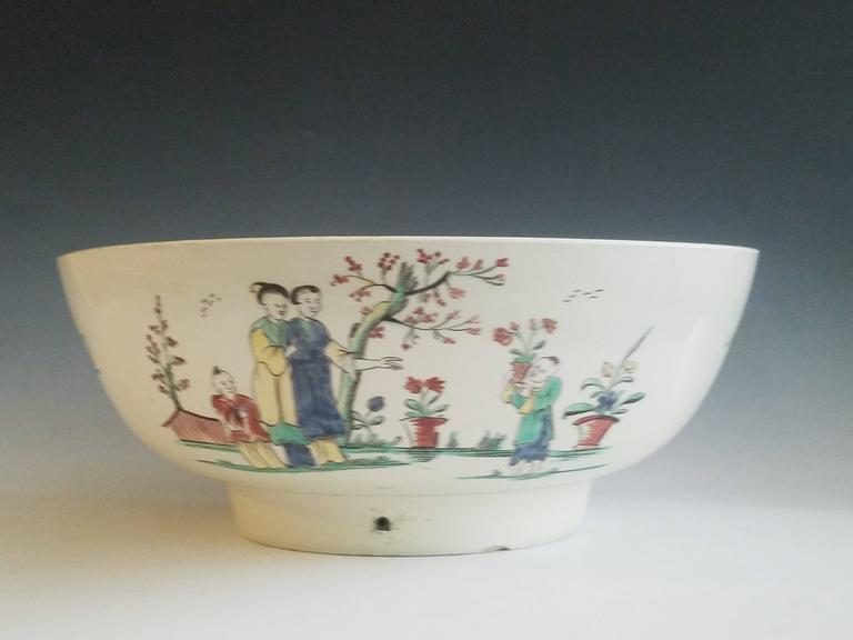 Creamware Pottery Sailor's farewell bowl, 
