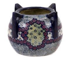 Austrian Four Handled Earthenware Vase by Amphora, circa 1905-1910