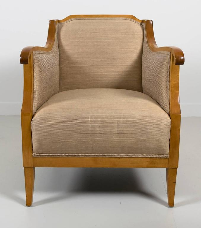 Pair of Swedish Biedermeier Style Chairs, Early 20th Century 7