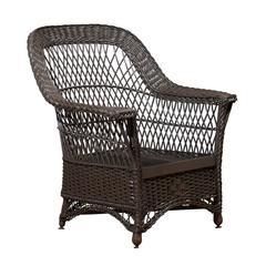 19th Century Wicker Chair