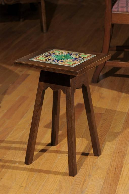 Arts and crafts style table for sale at 1stdibs for Arts and craft tables