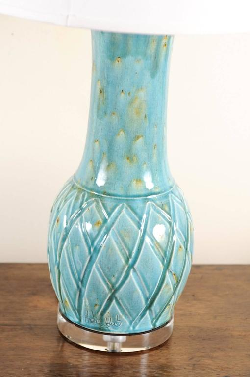 Charlie West Pottery Lamps For Sale At 1stdibs