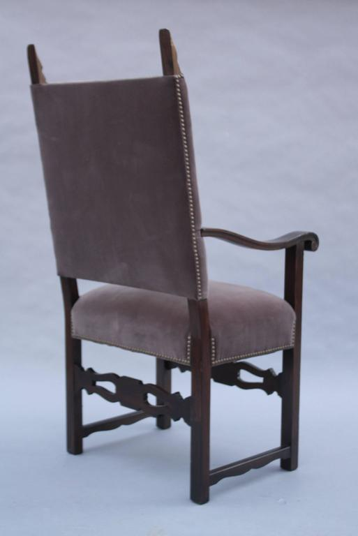 Spanish Colonial 1920s Spanish Revival Armchair For Sale