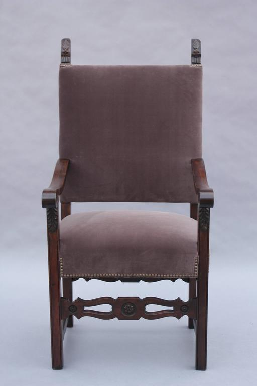 1920s Spanish Revival Armchair For Sale 2