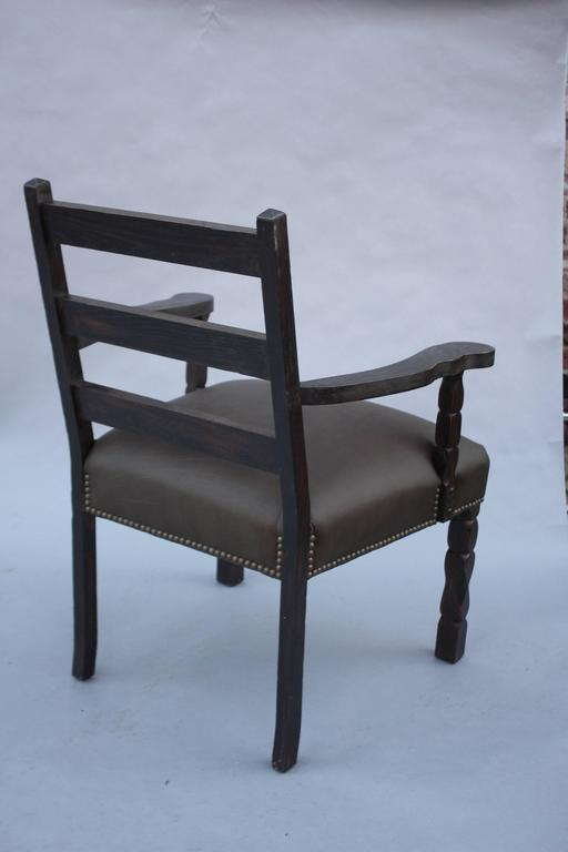 1920s Spanish Revival Armchair In Good Condition For Sale In Pasadena, CA