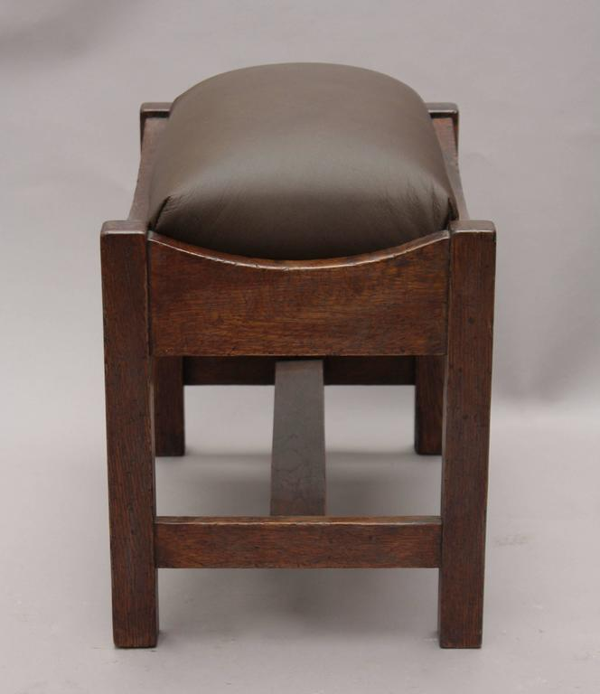American 1910 Arts & Crafts Foot Stool or Bench For Sale