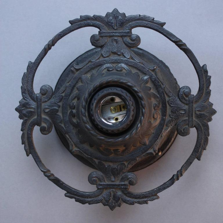 1920s Spanish Revival Flush Mount Light Fixture At 1stdibs