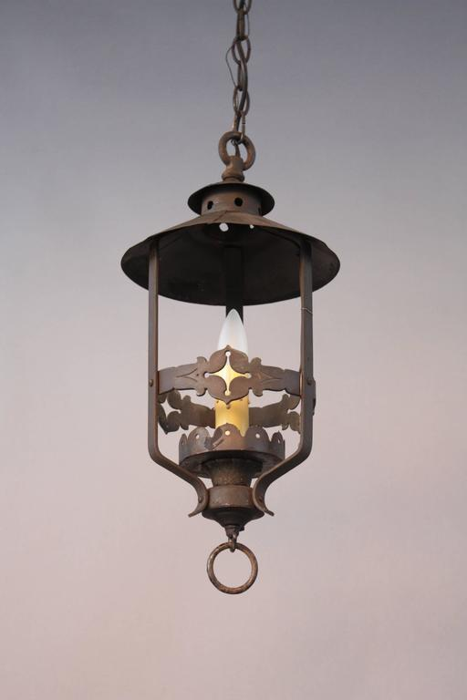 1920s Spanish Revival Pendant Light For Sale At 1stdibs