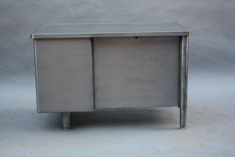 Midcentury Industrial Tanker Desk At 1stdibs