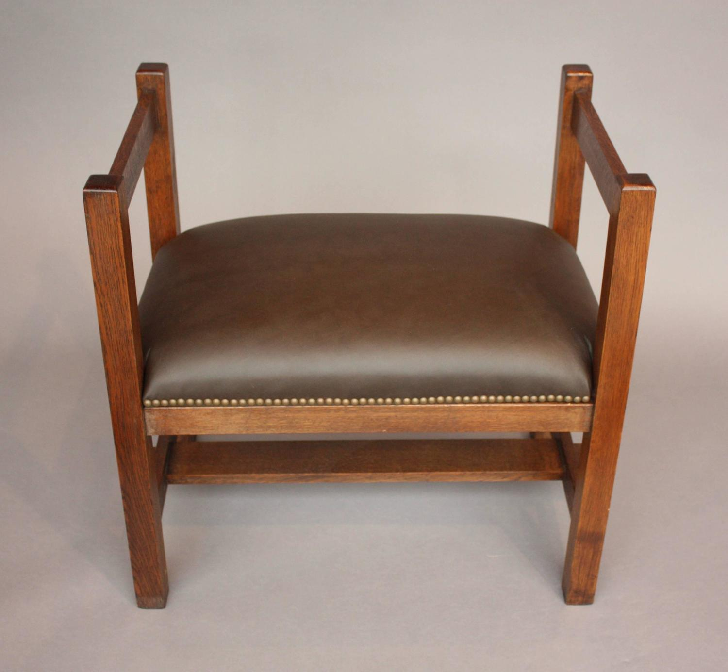 Elegant Arts And Crafts Mission Bench Circa 1910 At 1stdibs