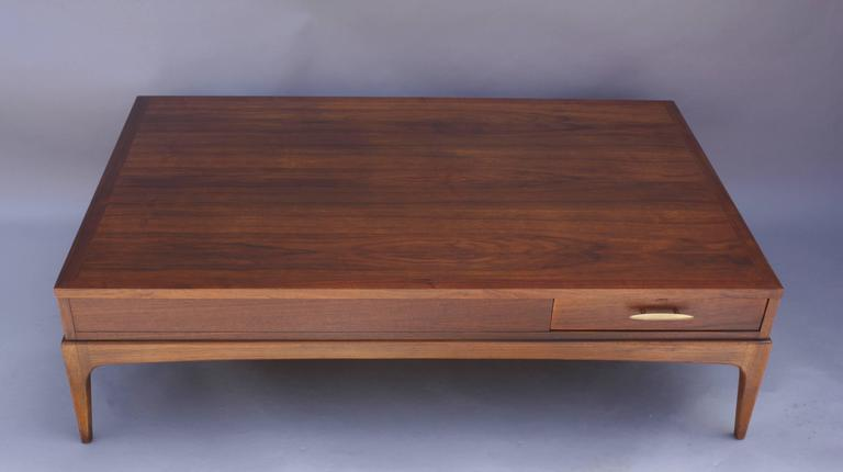 North American Mid-Century Lane Modern Coffee Table For Sale