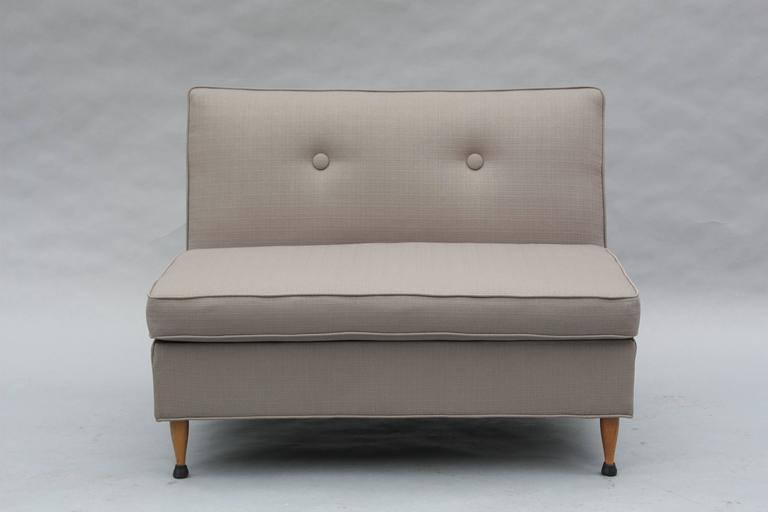 Mid-Century Modern 1960s Sectional Sofa For Sale 1