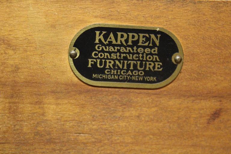 1930s Karpen Desk From The Hotel De Ansa At 1stdibs