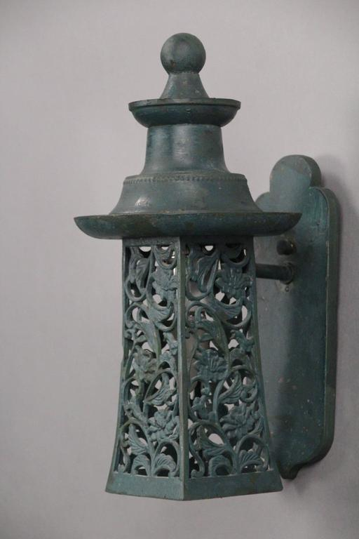 Charming Cottage Style 1920s Exterior Wall Lantern At 1stdibs