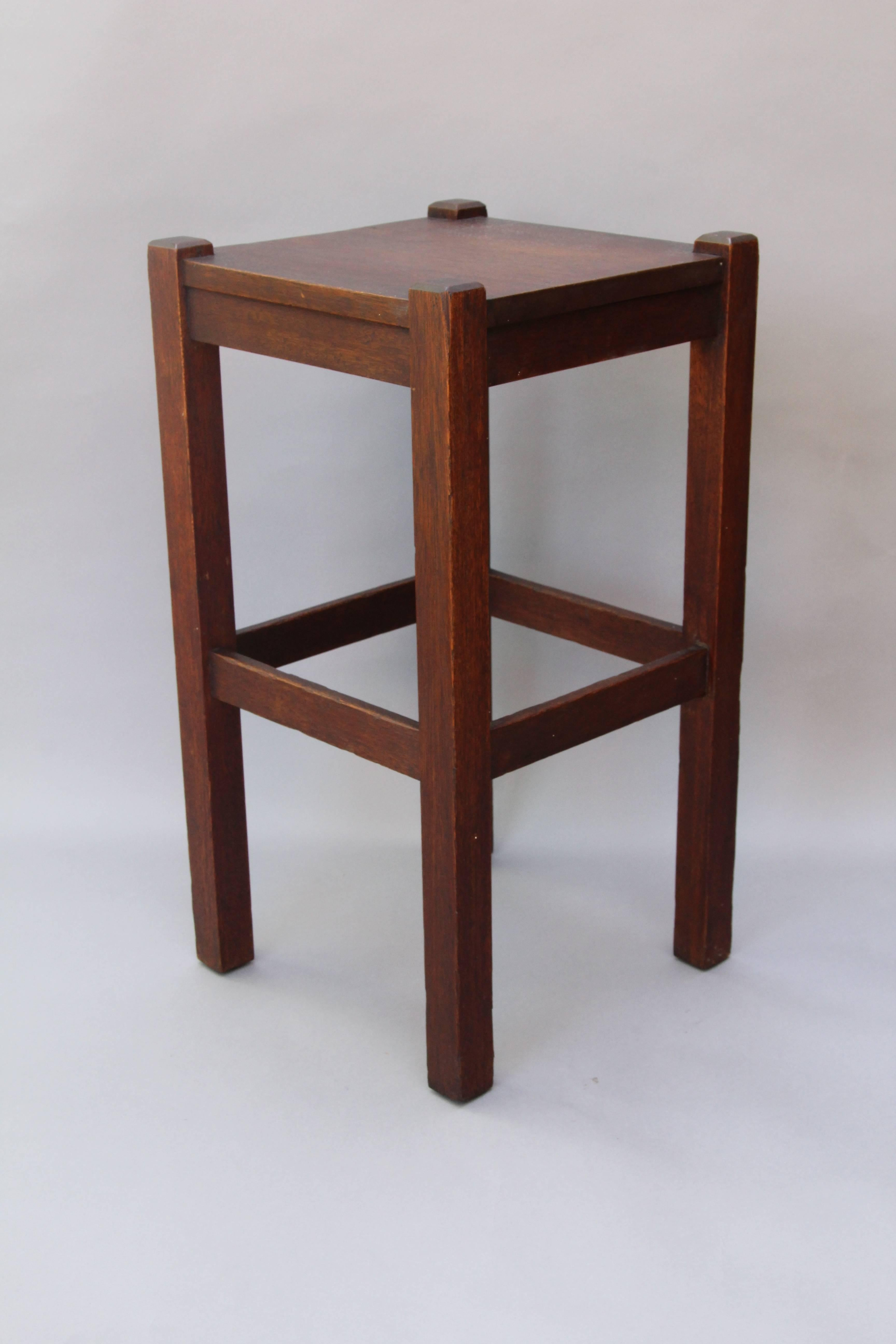Arts U0026 Crafts Mission Simple Side Table, Circa 1910.