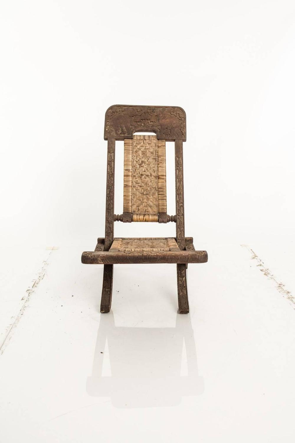 Papua New Guinea Folding Chair For Sale At 1stdibs