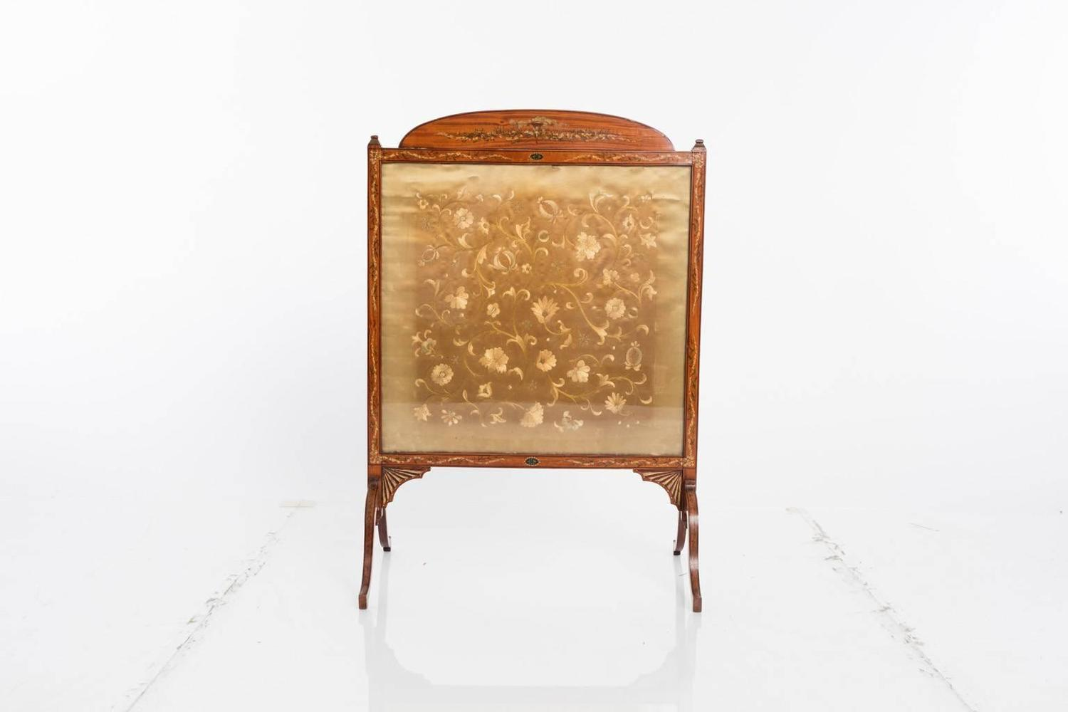 Adams Style Fire Screen For Sale At 1stdibs