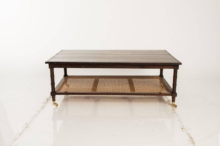 Two Tier Coffee Table At 1stdibs