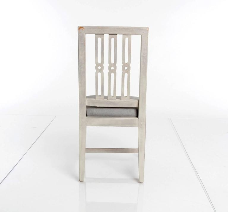Swedish Set of 12 Gustavian Dining Chairs For Sale
