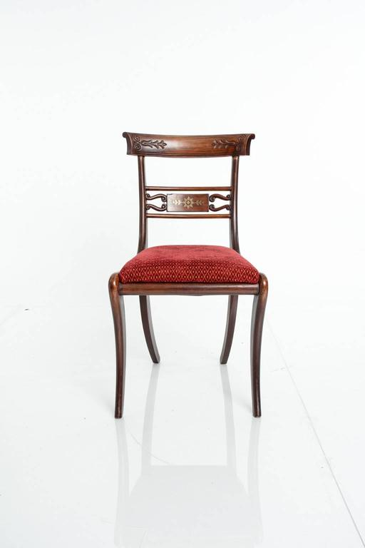 Regency Style Klismos Chairs For Sale At 1stdibs