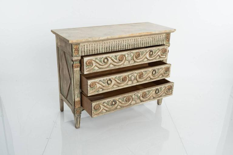 John Widdicomb Spanish Style Chest Of Drawers At 1stdibs