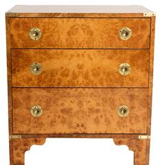 Burl Wood Chest of Drawers