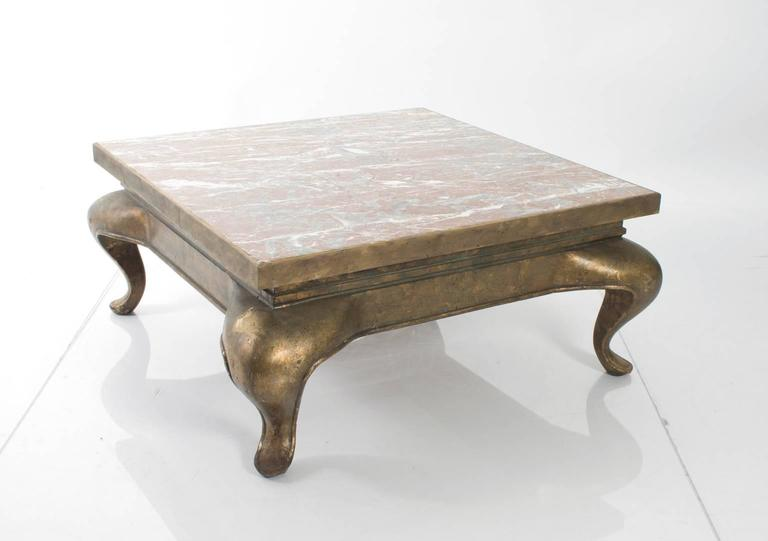 cabriole leg coffee table for sale at 1stdibs. Black Bedroom Furniture Sets. Home Design Ideas