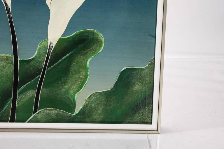 Calla Lily Oil Painting For Sale 4