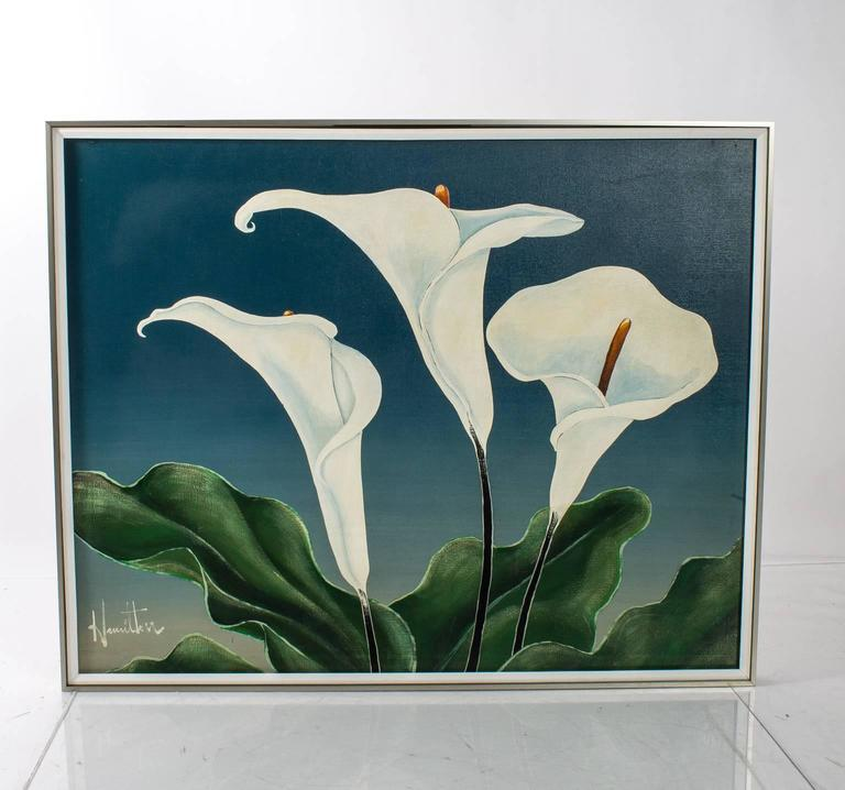 Calla Lily Oil Painting For Sale 3
