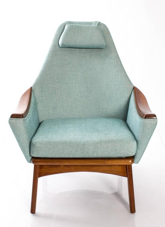 "Mid-Century Modern Adrian Pearsall for Craft Association ""His and Hers"" Lounge Chairs For Sale"