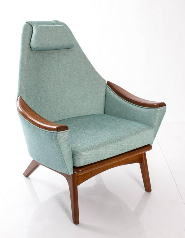 "Adrian Pearsall for Craft Association ""His and Hers"" Lounge Chairs 5"