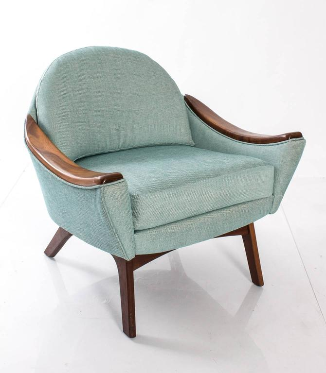 "Adrian Pearsall for Craft Association ""His and Hers"" Lounge Chairs 7"